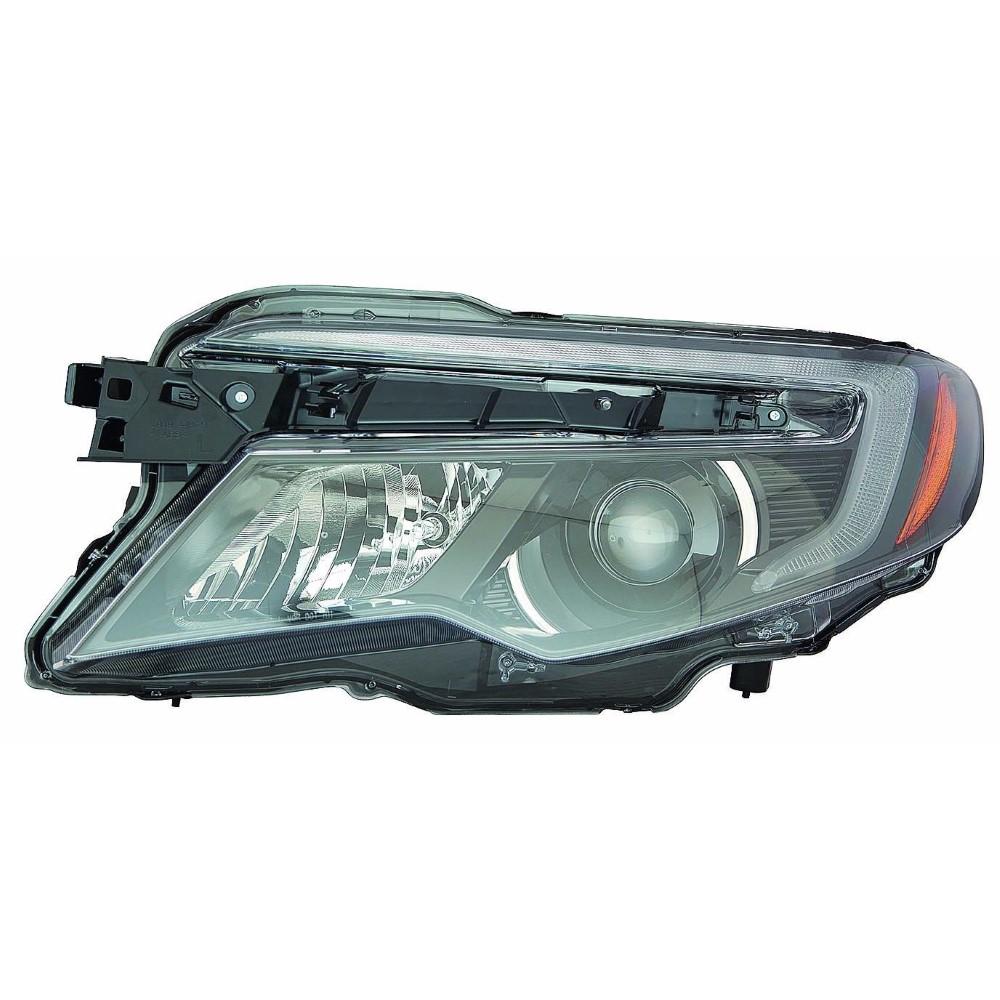 Honda Pilot P00428 Head Lamp Assy; Lh ; W/o-auto-dimming; W/o-auto-on/off; Halogen
